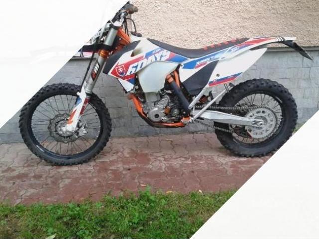 KTM 350 six days