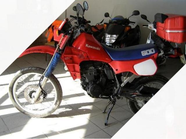 Kawasaki KLR 650 - 1987
