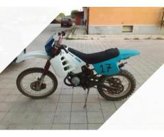 Aprilia rx 50, con motore 80 top