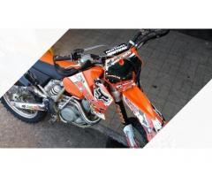 Cross ktm 525 sx - 2004