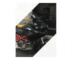 Ducati Multistrada 1000 pluriaccessoriata valigie