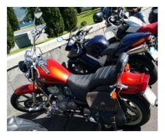Vendo Scamio Permuto moto Custom Kawasaki en500 tipo harley-davisdon