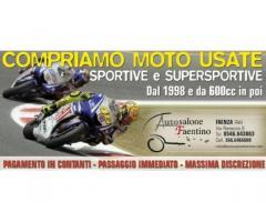 compro moto usate sportive e supersportive - pagamento contanti
