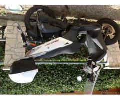 Kimko agility 50cc 2t del 2010 con 12.000 km