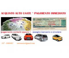 Acquisto auto usate tutte marche anni 2005-2013