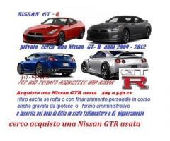 Acquisto compro una Nissan GTR anni 2009-2012