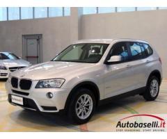 BMW NUOVA X3 XDRIVE 20D STEPTRONIC 184 CV Cambio Automatico 8 marce Cruise Control 2xclima Radio Cd