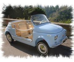 fiat 500 jolly ghia vintage car