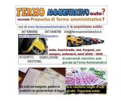 A Folrlì acquistiamo autoveicoli in Fermo Amministrativo contanti