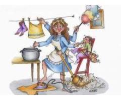 Baby-sitter, badante, pulizie