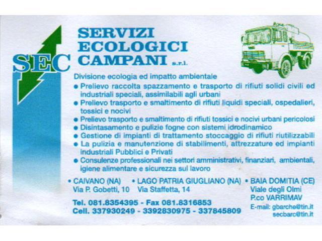 Servizi ecologici campani