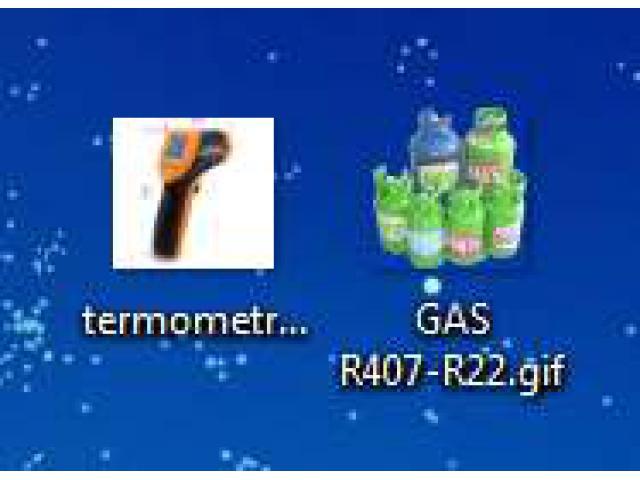 Gas Freon e Termometro Infrarossi