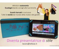Presentatrice di Gioielli....Stilose.it - Napoli