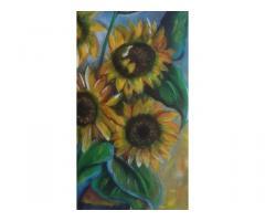 dipinto eseguito a mano olio su tela 40x60