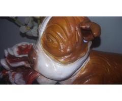scultura terracotta eseguita interamente a mano -moderna contemparanea