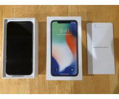 Apple iPhone X 256GB is 510 Euro  // Apple iPhone X 64GB is 450 Euro