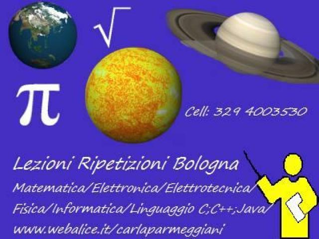 Ripetizioni di matematica, fisica, elettronica, informatica
