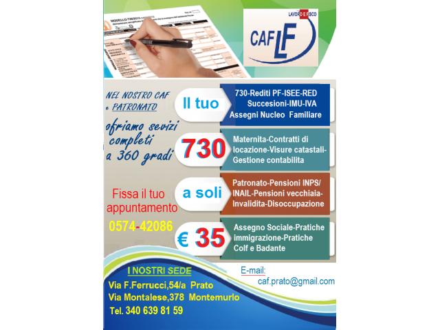 caaf prato ricerca operatori fiscali e di patronato 3932739391