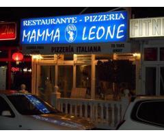 """BENIDORM, SPAGNA, PIZZERIA """" MAMMA LEONE """"   27500, FITTO 1300"""