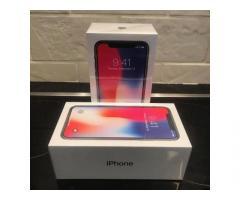 NUOVO Sigillato Apple iPhone X 64GB 256GB Argento & Grigio spazio - 2 anni di garanzia Apple