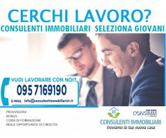 Cerchi lavoro? Consulenti immobiliari seleziona giovani