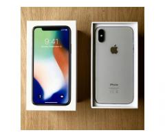 Vendita Apple iPhone X 64GB per 400 EUR e iPhone X 256GB per 450 EUR