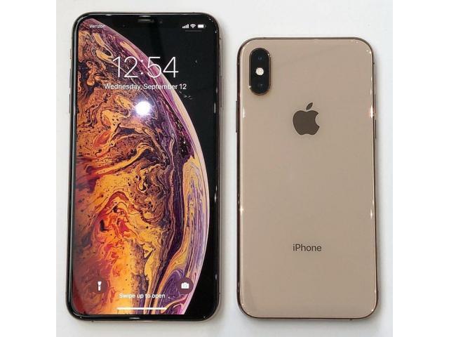 Apple iPhone Xs 64GB per 550 EUR  ,iPhone Xs Max 256GB per 600 EUR