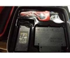 Forbici potatura + batteria professinale taglio 45 mm Nuova