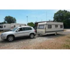 traino e trasferimento caravan roulotte