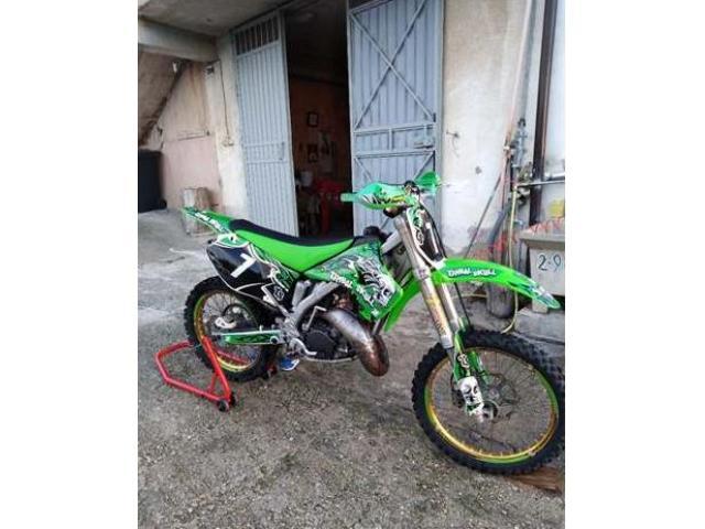 Kawasaki KX 125 rifatta