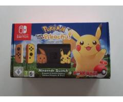 Nintendo Switch Let's Go Pikachu Pokeball Plus