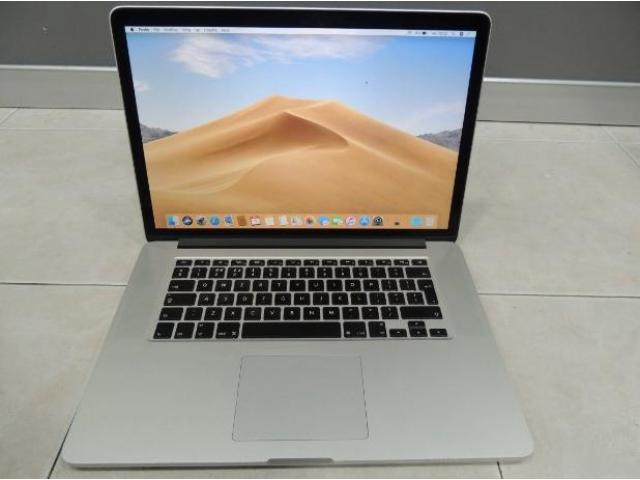 Macbook pro A1398 I7-4870HQ 16GB RAM 500GB SSD