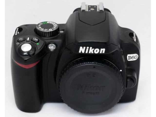 Nikon D60 reflex