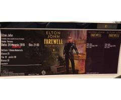 2 Biglietti Elton John Arena di verona 29/05/19, 21.00