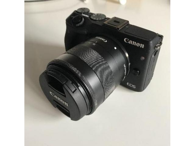 Canon EOS M3 kit 18-55