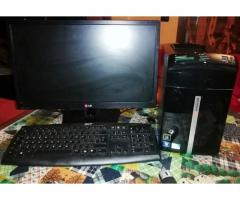 PC Packard Bell + Monitor LG