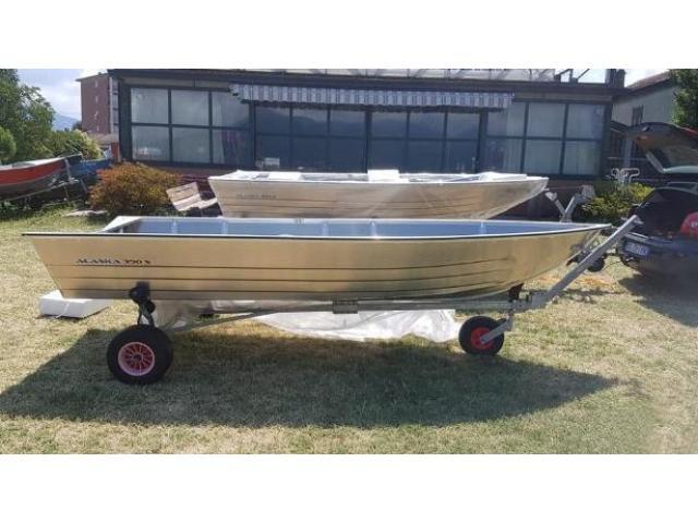 Barca in alluminio Alaska 390 S
