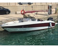 Barca Bluline 21 anno 2011 con motore Mercury 200