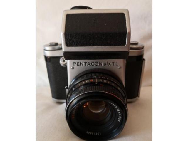 Pentacon SIX TL + 80mm 2.8 Zeiss Jena