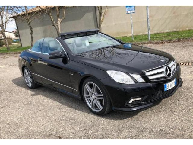 Mercedes classe E cabrio