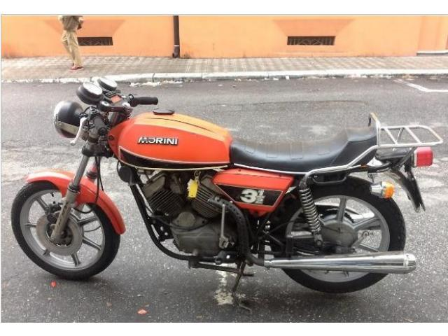 Moto Morini 3 1/2 e mezzo epoca