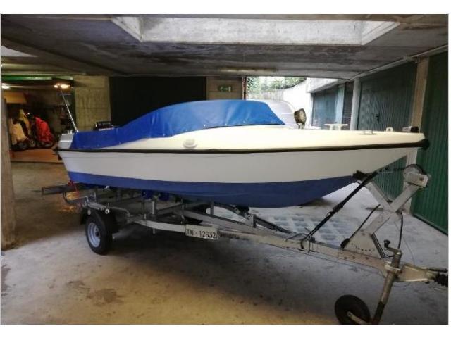 Barca 5.5mt pronta all'uso.2-3-2019