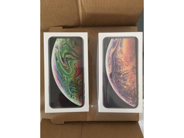 iPhone XS 64GB 380EUR iPhone XS Max 400EUR iPhone X 300EUR