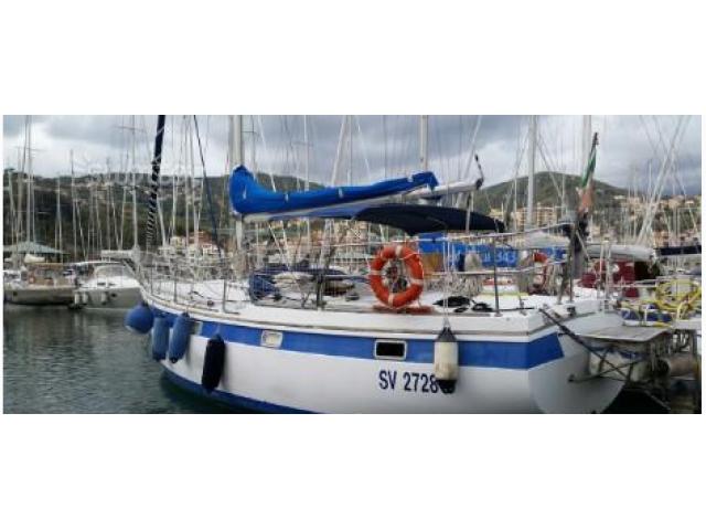 34 piedi - Barca a vela, comoda ed affidabile