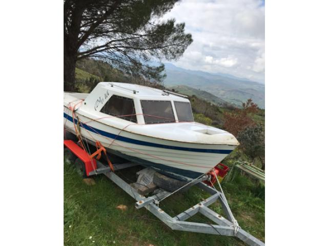 Carrello porta barca 1200 kg