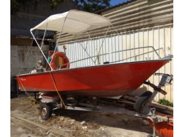 Barca con Carrello