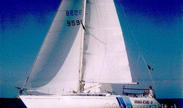 Vele per Barca 38 Piedi