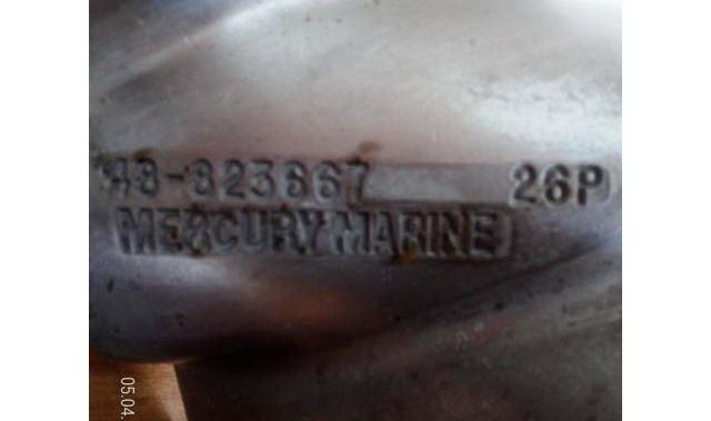Eliche mercury bravo III passo 26