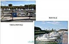 Visto barca con box davanti ai sola d'Elba