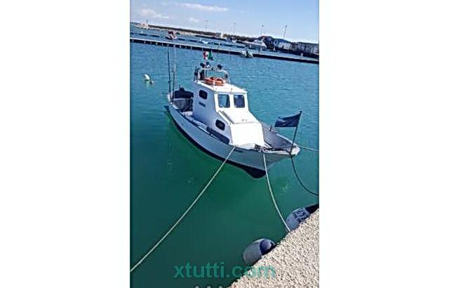Barca da Pesca in Vetroresina con Licenza
